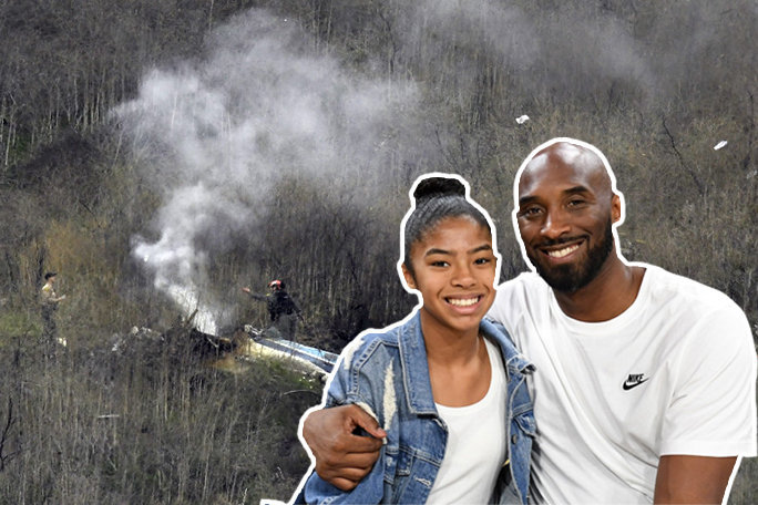 #Kobe Bryant and his daughter Gianna Dies in a Helicopter Crash