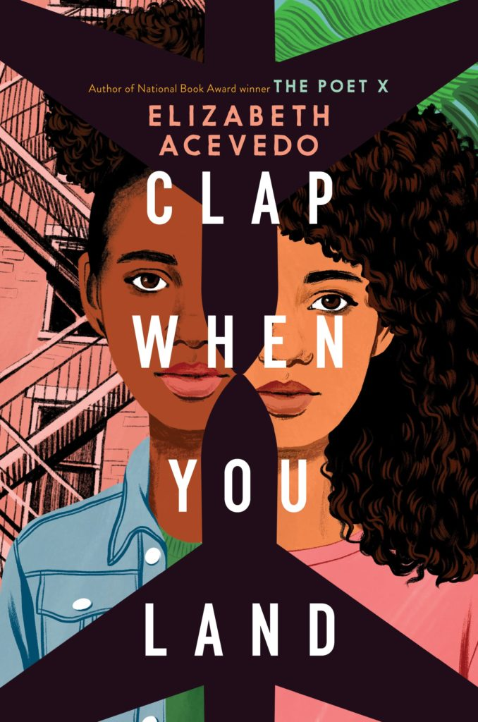 "A photo of cover art of  ""Clap when you land"""