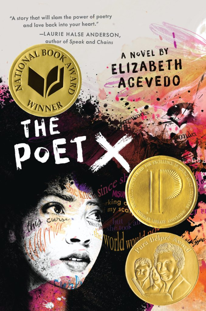 "A photo of cover art of  ""The Poet X"""