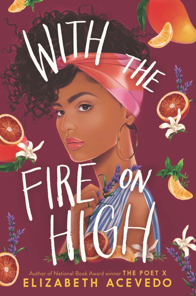 "A photo of cover art of  ""With the fire on high"""