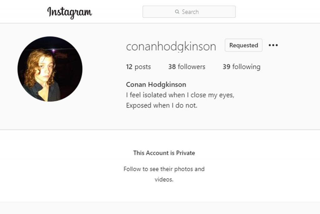 conan hodgkinson instagram