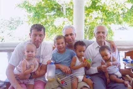 michael atherton family