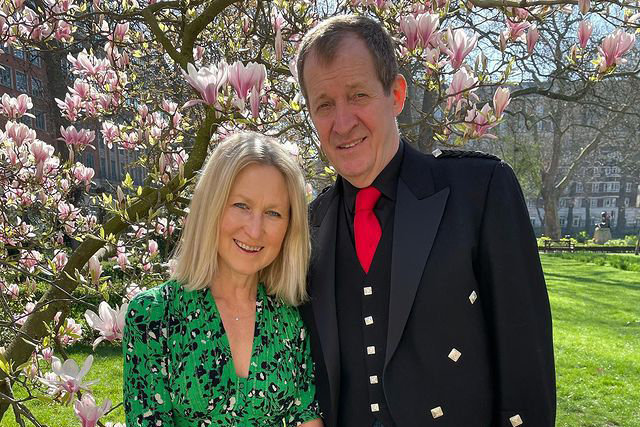 alastair campbell wife