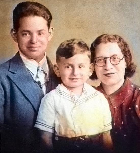 eli broad family