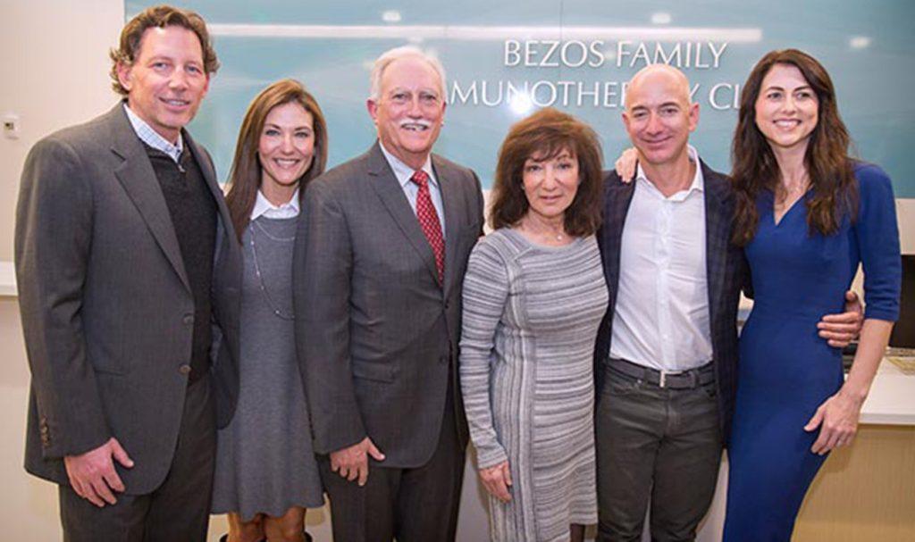 mark bezos family