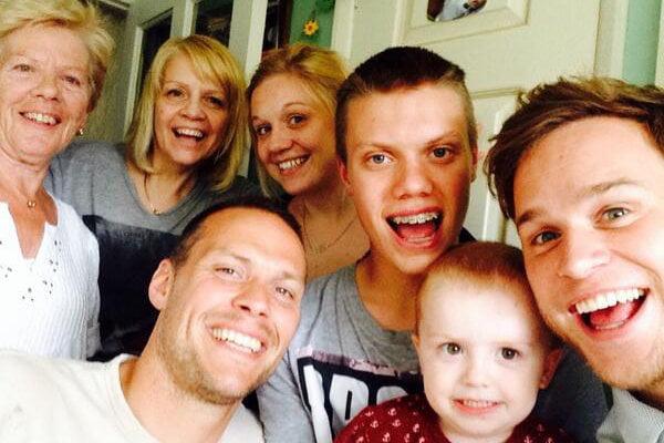 olly murs family