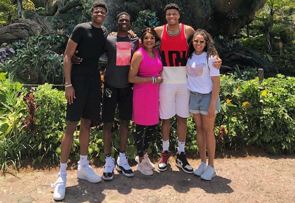 giannis antetokounmpo family