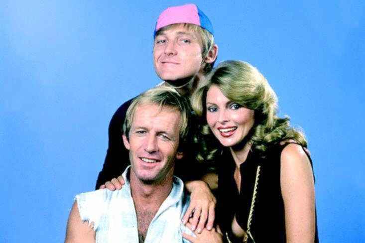 John Cornell With His Wife and Paul Hogan