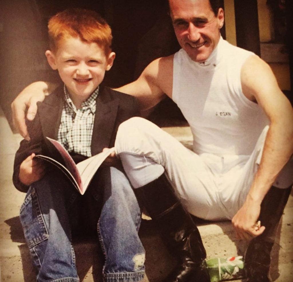 David Egan Jockey father