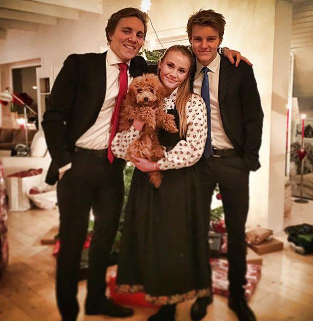 martin odegaard family