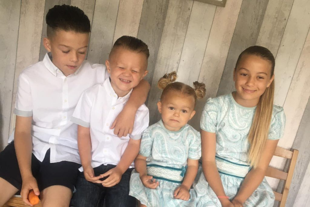 Natasha Broadley Children