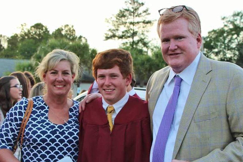 Alex Murdaugh Wife and Son