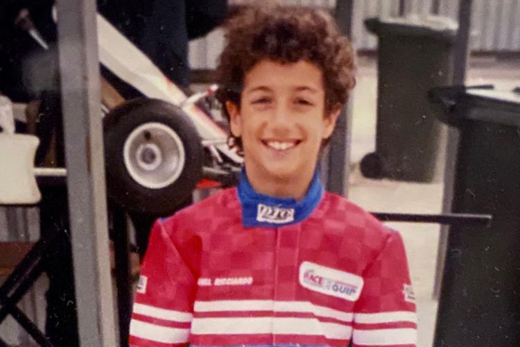 Daniel Ricciardo Childhood