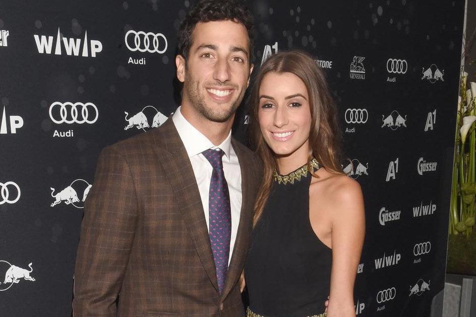 Daniel Ricciardo Girlfriend