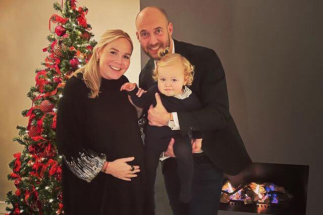 Debbie Koeman Husband and Child