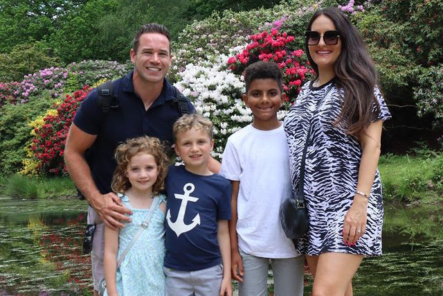 Kieran Hayler Family