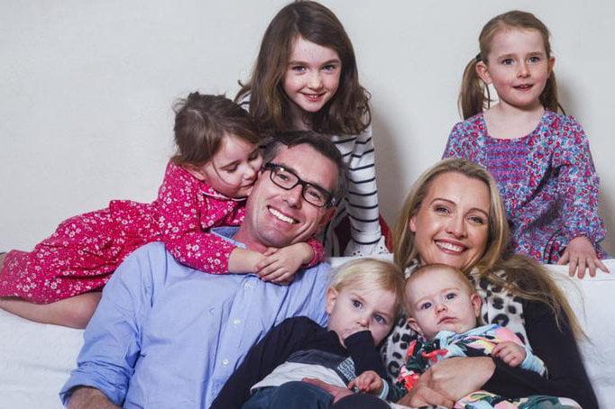 Dominic Perrottet Family
